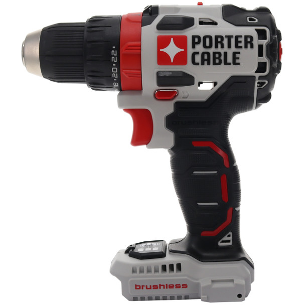 Porter Cable PCC607 20V MAX 1/2 in Brushless Drill Driver, Tool Only