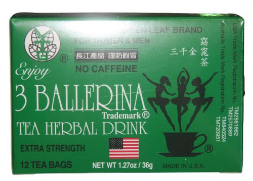 NGL 3 BALLERINA DIET TEA 36G