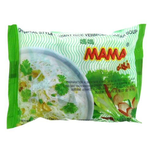 MAMA RICE VERMICELLI CLEAR SOUP 55G