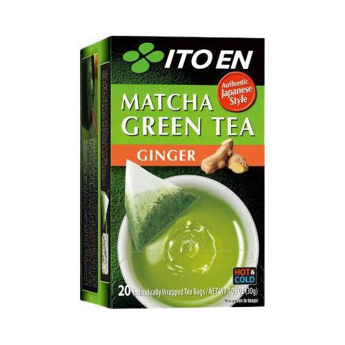 MATCHA GREEN TEA Ginger Tea Bag 20pc