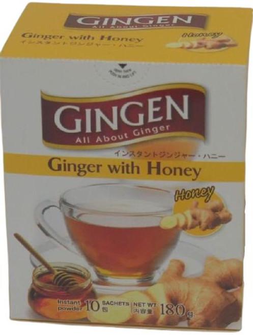GINGEN GINGER TEA W/HONEY 180G