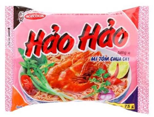 HAO HAO HOT & SOUR SHRIMP 75G