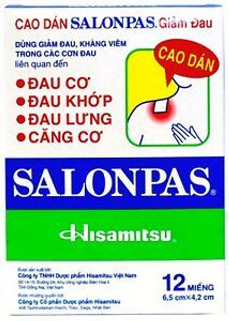 SALONPAS PATCH ORIGINAL