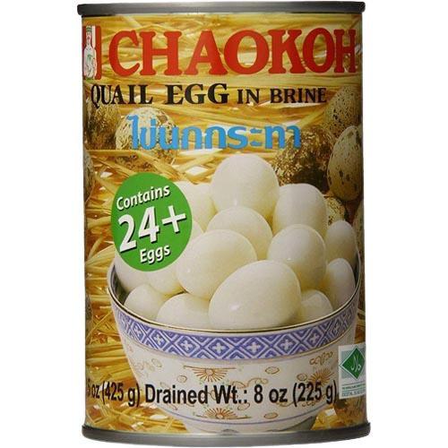 CHAOKOH QUAIL EGGS IN BRINE 425G
