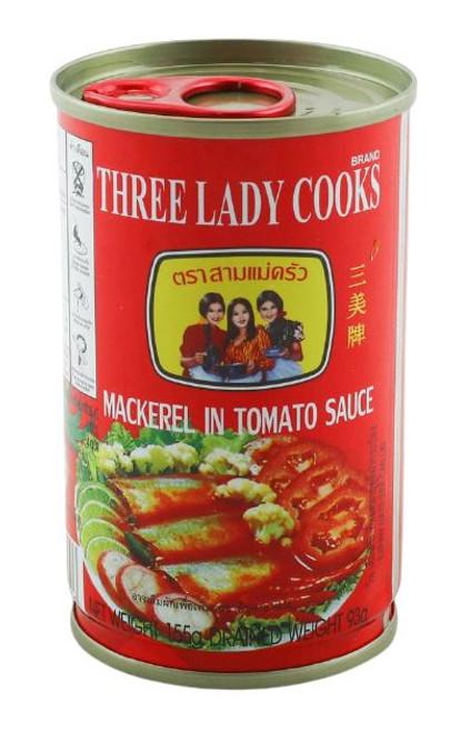 3 LADY MACKEREL W/TOMATO SAUCE 155G