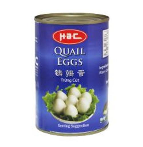 HAC QUAIL EGGS 425G