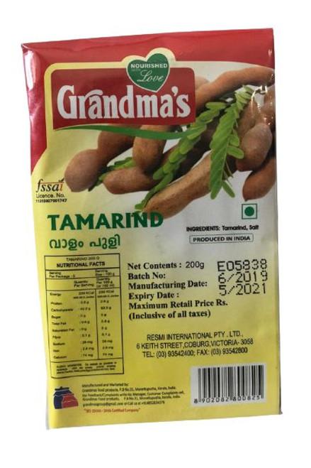 GRANDMA'S TAMARIND SLAB 500G
