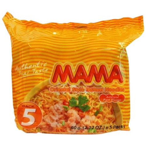 MAMA 60G PORK NOODLE 5PK X 6 (BOX)