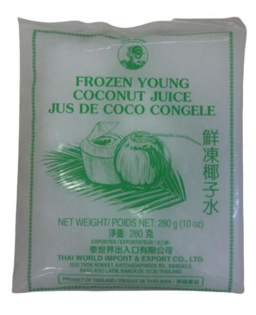 COCK FROZEN YOUNG COCONUT JUICE BAG 280G