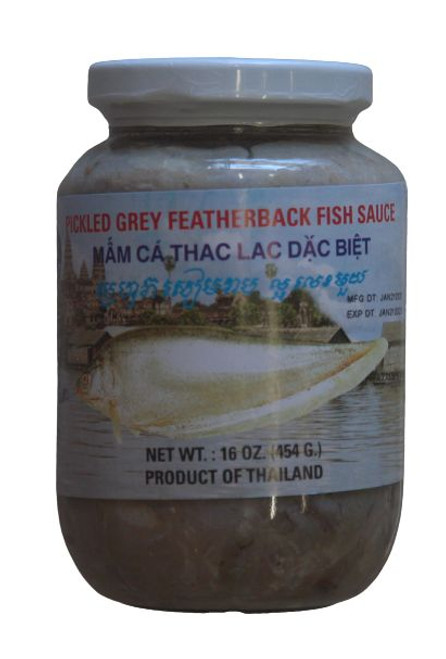THREE TREES PICKLED FEATHERBACK FISH 454G