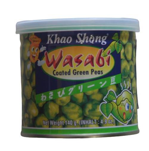 KHAO SHONG WASABI PEAS 140G