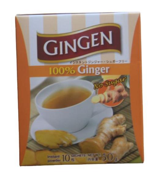 GINGEN 100%  INSTANT GINGER TEA  10X5G