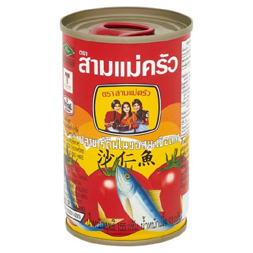 3 LADY SARDINES IN TOMATO SAUCE 155GX10 (PACK)