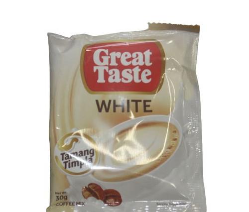 GREAT TASTE 3 IN 1 WHITE COFFEE 30GX10