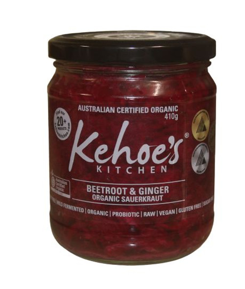 KEHOES ORGANIC BEETROOT & GINGER 410G