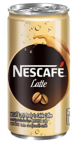 NESCAFE LATTE CAN 180ML
