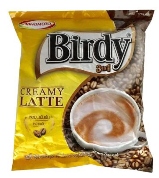 BIRDY 3IN1 CREAMY LATTE 15.5GX27PC