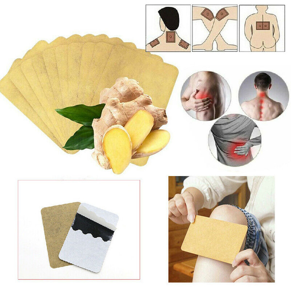 Herbal Ginger Pain Relief Patches x 10pc
