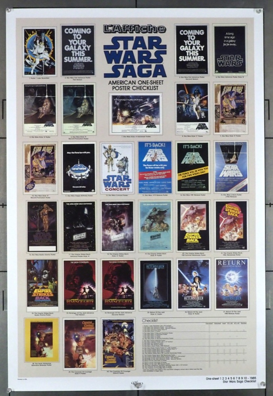 Original Star Wars Episode Iv A New Hope 1977 Movie Poster In Nm Condition For 45 00