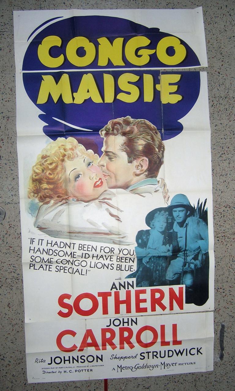 CONGO MAISIE (1940) 5251 ANN SOTHERN as MAISIE