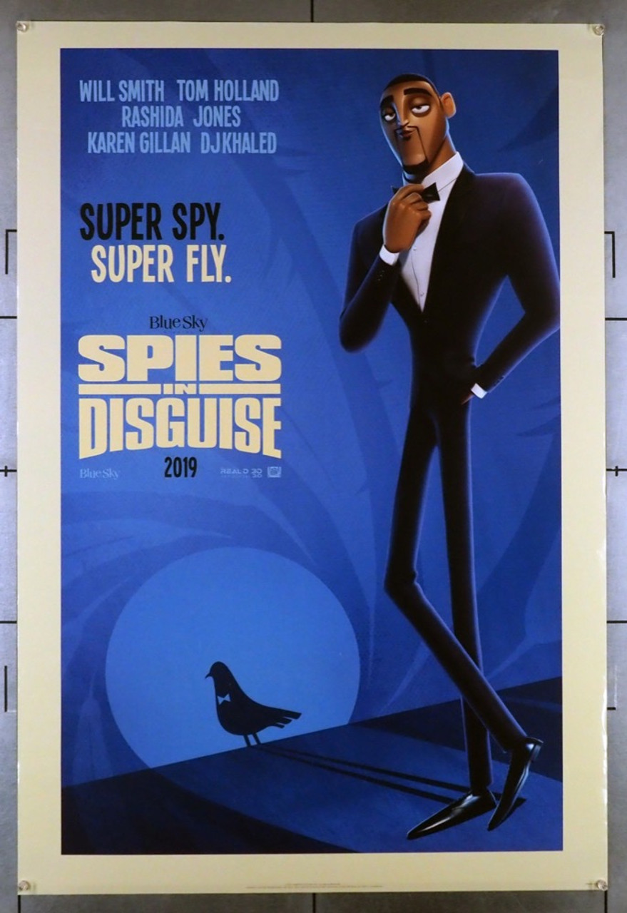 Original Spies In Disguise 2019 Movie Poster In C8 Condition For 45 00