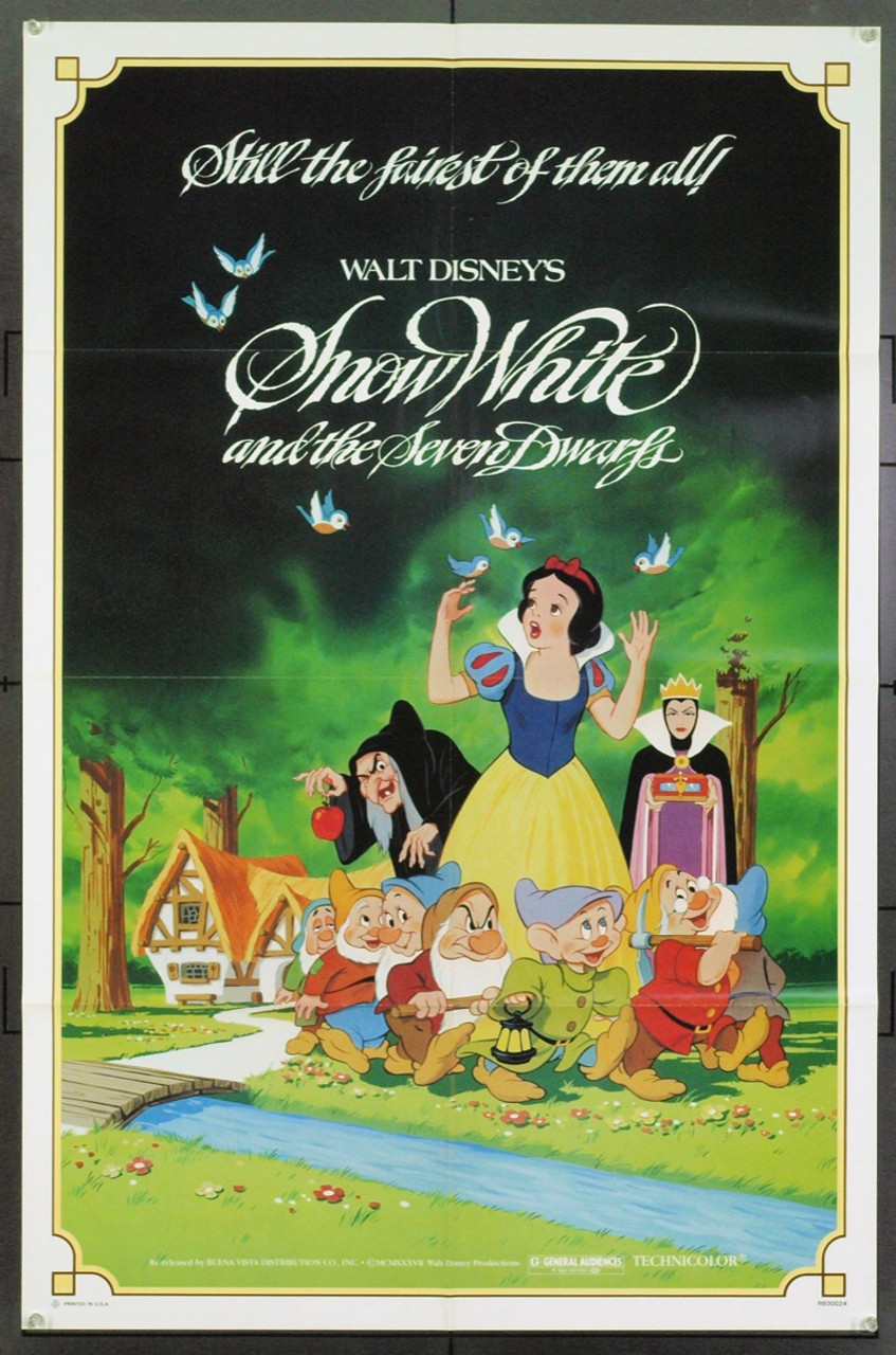 Original Snow White And The Seven Dwarfs (1937) movie