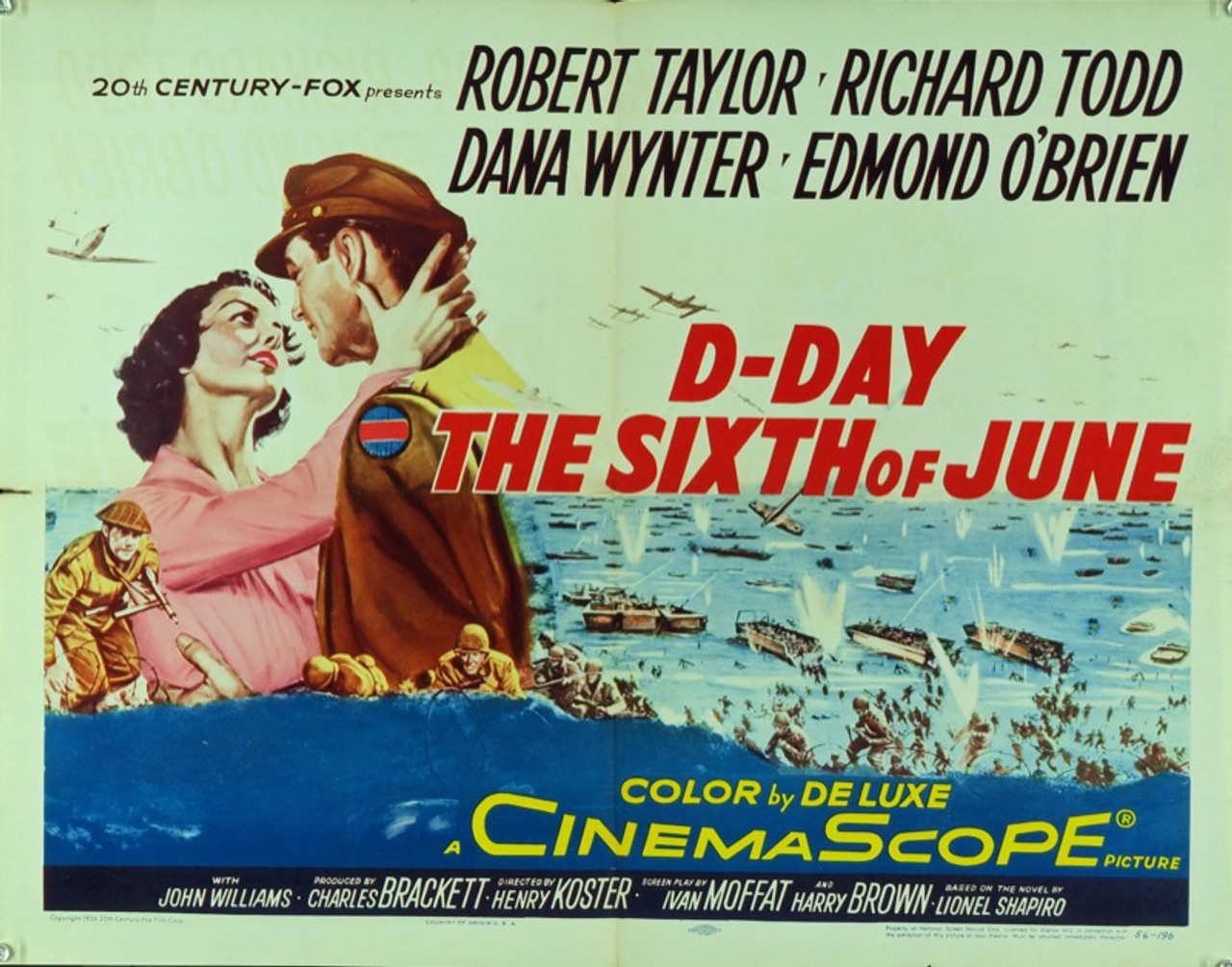 D-DAY THE SIXTH OF JUNE (1956) 8667