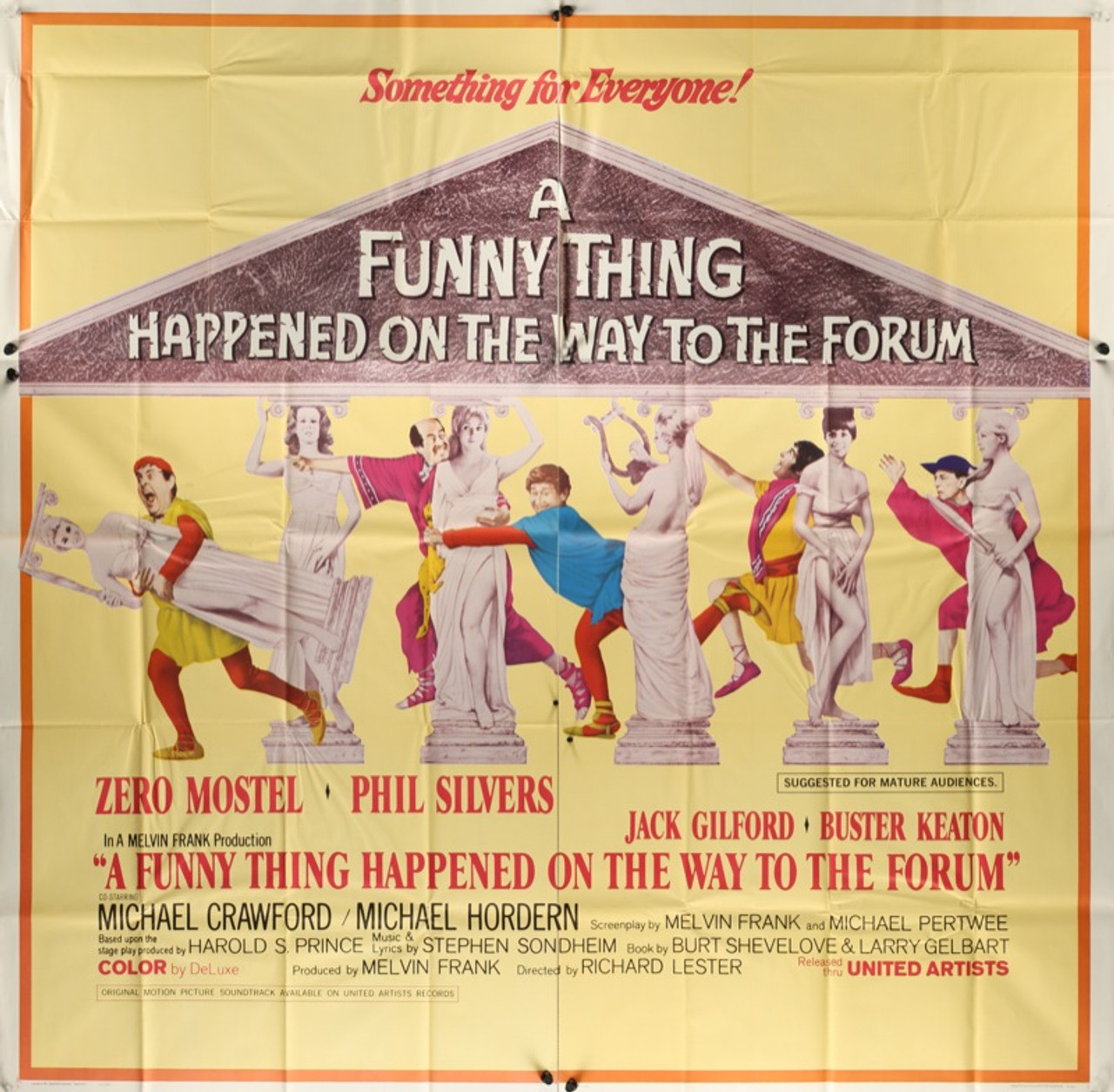 Funny Thing Happened Way Forum 1966