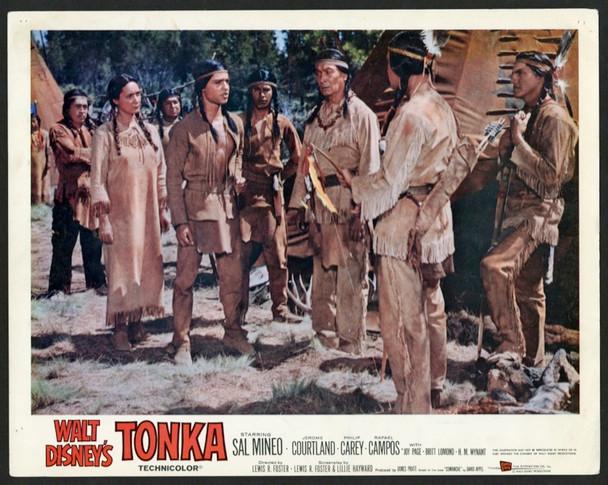 TONKA (1958) 25711 Walt Disney Company Original Scene Lobby Card (11x14)  Fine Plus Condition