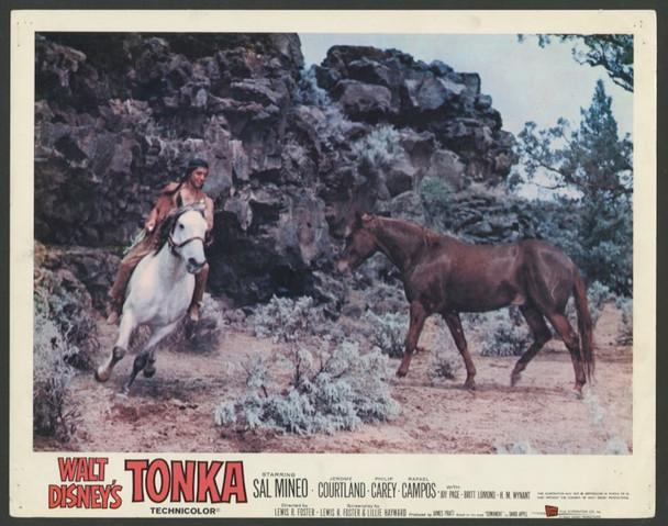 TONKA (1958) 25710 Walt Disney Company Original Scene Lobby Card (11x14)  Fine Condition