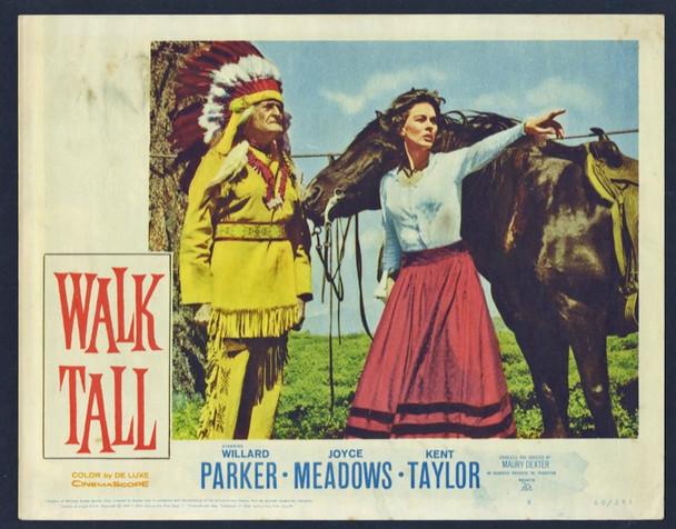 WALK TALL (1960) 25722 20th Century Fox Scene Lobby Card (11x14) Fine Condition