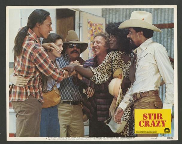 STIR CRAZY (1980) 25697 Columbia Pictures Original Scene Lobby Card (11x14) Very Fine Condition