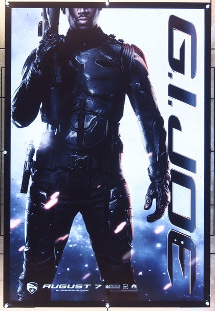 G.I. JOE: THE RISE OF COBRA (2009) 20733 Original Paramount Pictures Style C Advance One Sheet Poser (27x41).   Double-Sided.  Rolled.  Very Fine.