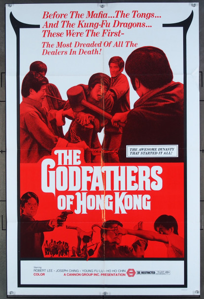 GODFATHERS OF HONG KONG  (1994) 26501 Cannon Group Original One-Sheet Poster  (27x41) Folded  Very Fine Condition