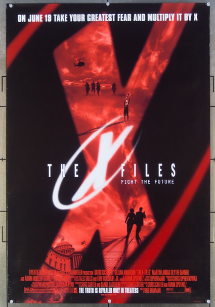 X-FILES, THE (1998) 26540 20th Century Fox Original One-Sheet Poster (27x40) Double Sided  Rolled  Fine Plus Condition