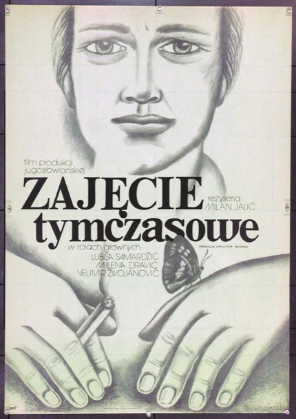 PART-TIME WORK (1980) 22222 Original Polish Poster (27x38).  Ihnatowicz Artwork.  Unfolded.  Very Fine.