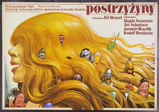 SHORTCUTS (1981 ) 22211 Original Polish Poster (27x39).  Waluski Artwork.  Unfolded.  Very Fine.