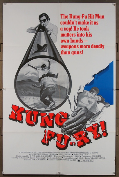 KUNG FU-RY (1975) 26588  Movie Poster Original One Sheet Poster (27x41) Folded  Fine Condition