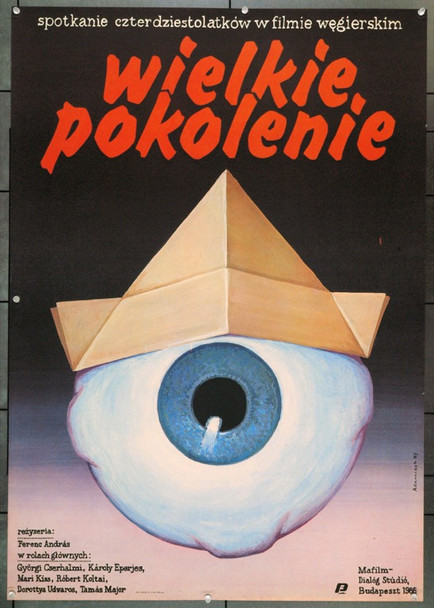 GREAT GENERATION, THE (1988) 22306 Original Polish Poster (27x38).  Adamczyk Artwork.  Unfolded.  Very Fine.