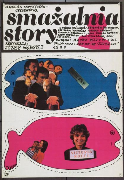 SMAZALNIA STORY (1985) 22351 Original Polish Poster (27x38).  Unfolded.  Very Fine Condition.