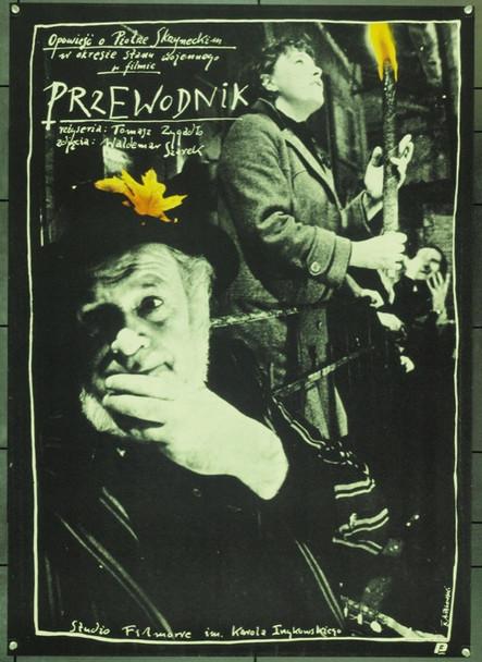 PRZEWODNIK (1987) 22382 Original Style B Polish Poster (26x38).  Pagowski Artwork.  Unfolded.  Very Fine.