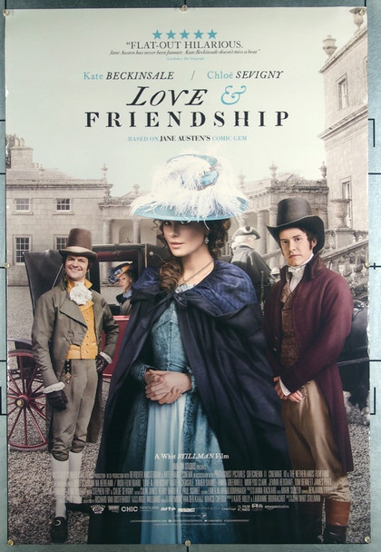 LOVE & FRIENDSHIP (2016) 26377 Blinder Films Original One-Sheet Poster (27x41) Double sided.  Very Fine Condition  Rolled