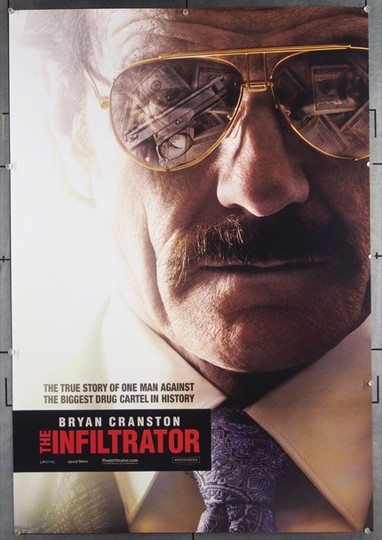 INFILTRATOR, THE (2016) 26552 Broad Green Pictures Original One-Sheet Poster (27x40) Double-Sided  Very Fine Condition