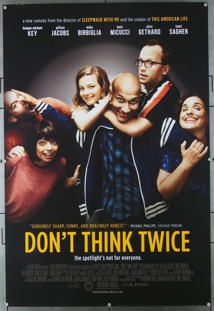 DON'T THINK TWICE (2016) Movie Poster 26549 Original U.S. One-Sheet Poster (27x40) Never Folded  Very Fine Plus Condition