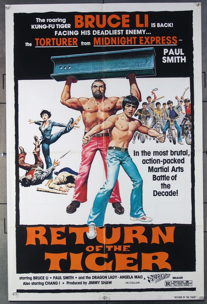 RETURN OF THE TIGER (1978) 26614 21st Century Original One-Sheet Poster (27x41) Folded  Fine Condition