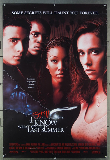 I STILL KNOW WHAT YOU DID LAST SUMMER (1998) 26524 Columbia Pictures Original One-Sheet Poster (27x40) Theater-used  Fine Plus Condition