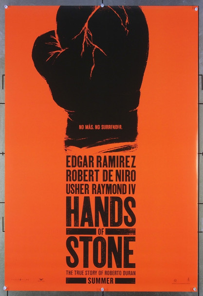 HANDS OF STONE (2016) 26601 The Weinsteiin Company Original One-Sheet Poster (27x40) Very Fine Condiiton