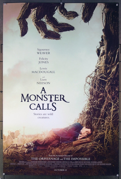 MONSTER CALLS, A (2016) 26604 Focus Features Original One-Sheet Poster (27x40) Never Folded  Very Fine Condition
