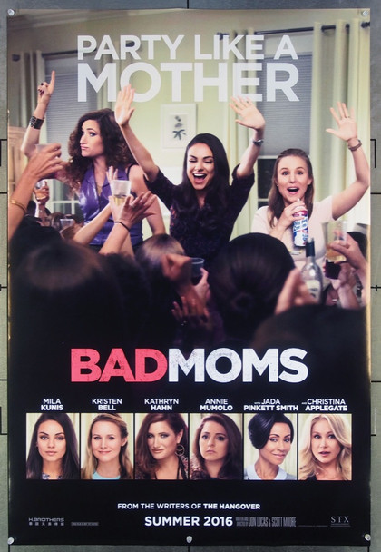 BAD MOMS (2016) 26593 STX Entertainment Original One-Sheet Poster (27x40) Never Folded  Very Fine Condition