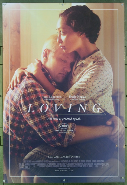 LOVING (2016) 26602 Original Focus Features Advance One Sheet Poster (27x40).  Rolled.  Very Fine.